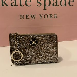 kate spade l-zip card holder